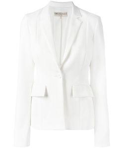 Emilio Pucci | One Button Blazer 42 Cotton/Linen/Flax/Nylon/Silk