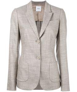 Agnona | Two Button Blazer 44 Spandex/Elastane/Rayon/Wool/Cupro