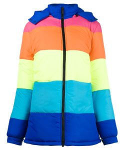 Mira Mikati | In The Middle Of Nowhere Stripe Puffer Coat
