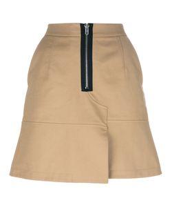 Alexander Wang   Mini Skirt With Zip 6 Cotton/Polyester