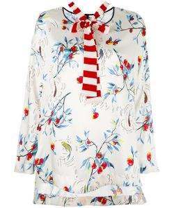 Antonio Marras | Print Shift Blouse 40 Polyester/Spandex/Elastane