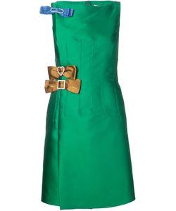 Lanvin | Платье С Декоративным Бантом