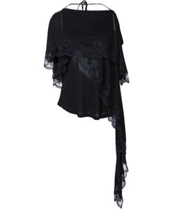 Givenchy | Блзука С Кружевными Элементами
