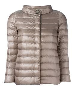Herno | High Neck Down Jacket 40 Polyamide/Polyurethane/Polyester/Feather Down
