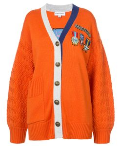 Mira Mikati | Cardigan With Embroidered Badges Women