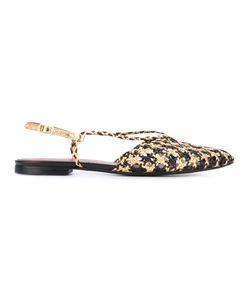 Michel Vivien | Woven Flat Sandals