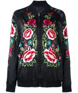 P.A.R.O.S.H. | Embroide Bomber Jacket Medium Polyester