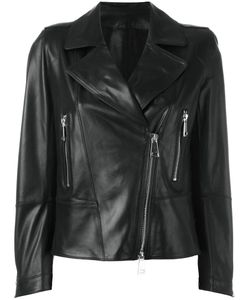Sylvie Schimmel | Biker Jacket With Tone Zippers Womens Size 38