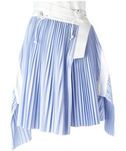 Sacai | Wrap Micro Pleat Skirt Size