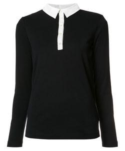 Bogner | Contrasting Collar Polo Shirt 36 Cotton
