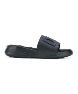 DKNY   Logo Slider Sandals 8