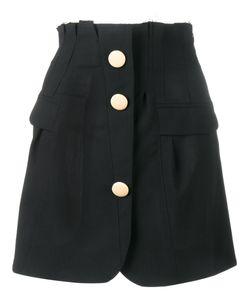 JACQUEMUS | Buttoned A-Line Skirt 42 Wool