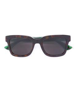 Gucci Eyewear | Web Arm Tortoiseshell Glasses