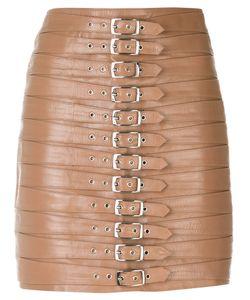 Manokhi | Belt Embellished Short Skirt