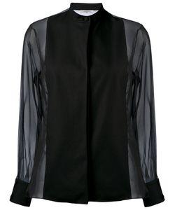 Lanvin | Блузка С Прозрачными Рукавами