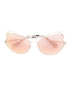 Miu Miu Eyewear   Солнцезащитные Очки В Оправе Кошачий Глаз
