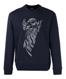 Emporio Armani   Embroidered Eagle Sweatshirt Large