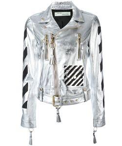 OFF-WHITE | Diagonal Carryover Biker Jacket Size Medium