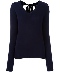 Joseph | V-Neck Jumper Large Cashmere