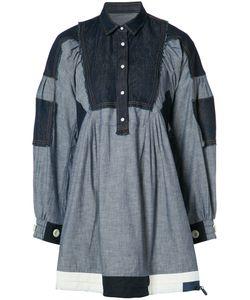 Sacai | Oversized Shirt Dress 1 Acetate/Cotton
