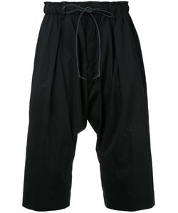 KAZUYUKI KUMAGAI | Drawstring Drop-Crotch Shorts