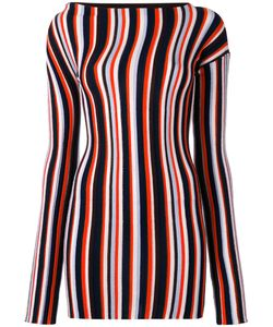 JACQUEMUS | Striped Knitted Mini Dress 36 Wool