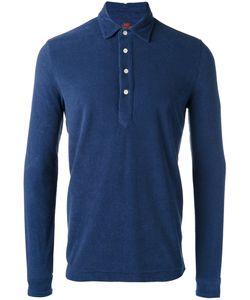 MP MASSIMO PIOMBO | Towell Long Sleeve Polo Shirt