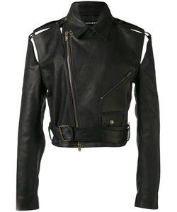 Y / PROJECT   Cropped Biker Jacket Horse