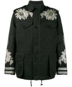 Alexander McQueen | Sequin Embroidered Military Jacket