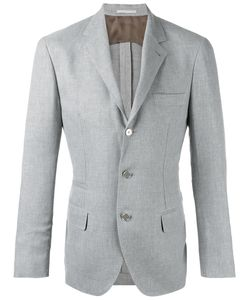 Brunello Cucinelli | Three-Button Blazer 48 Linen/Flax/Wool/Silk/Cupro