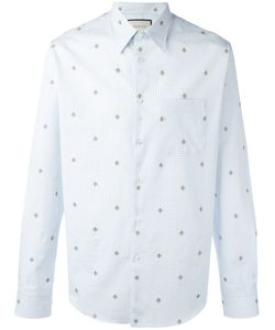 Gucci   Bee Embroide Shirt 37 Cotton