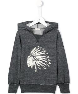 Babe And Tess | American-Indian Print Hoodie 6 Yrs