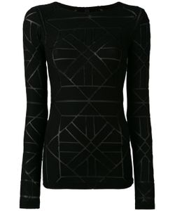 Gareth Pugh | Sheer Panel Detail Sweater