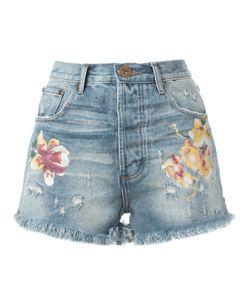 One Teaspoon   Denim Shorts 28 Cotton