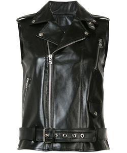 BEAU SOUCI | Sleeveless Biker Jacket
