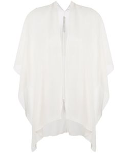 D.exterior | Sheer Open Blouse 1