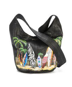 Elisabeth Weinstock | Malibu Surf Shoulder Bag Leather/Watersnake