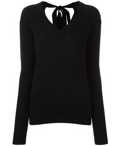 Joseph | V-Neck Jumper Small Cashmere