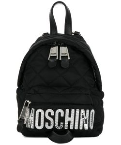 Moschino | Mini Quilted Logo Backpack