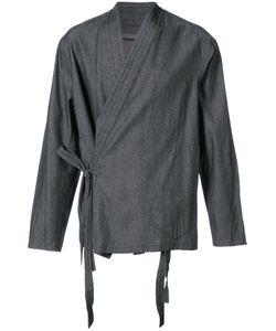 SIKI IM | Kimono Wrap Shirt Men