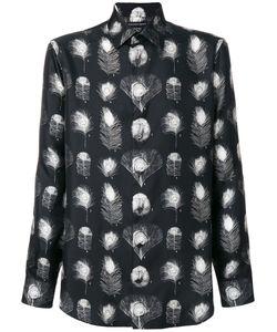 Alexander McQueen | Рубашка С Принтом Павлиньих Перьев