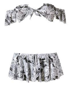 AMIR SLAMA | Printed Bikini Set P Elastodiene