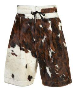 Vivienne Westwood | Man Cow Skin Shorts Size Calf