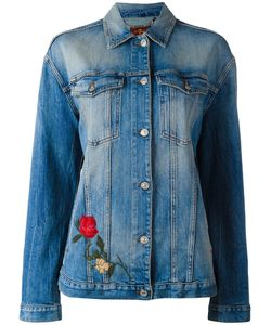 7 for all mankind | Embroide Denim Jacket Small