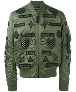 MARCELO BURLON COUNTY OF MILAN | Roldan Alpha Ma-1 Bomber Jacket