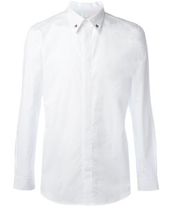 Givenchy   Star Collar Tip Shirt 39 Cotton/Spandex/Elastane