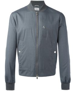 Brunello Cucinelli | Zipped Bomber Jacket 52 Silk/Wool/Cotton