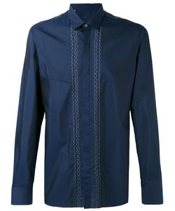 Lanvin | Рубашка С Вышитыми Полосами