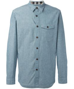 Burberry | Buttoned Chest Pocket Shirt Small Cotton