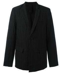 THOM KROM   Crease Effect Blazer Medium Cotton/Linen/Flax/Spandex/Elastane
